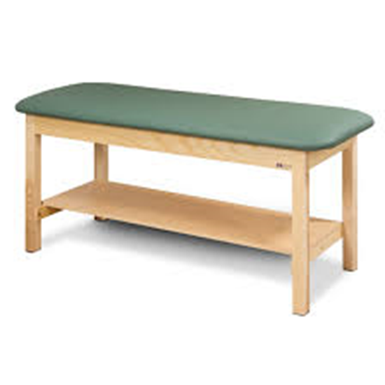 """Picture of 200-24 - Table w/ Shelf 24"""" Wide-Classic-FLAT TOP"""