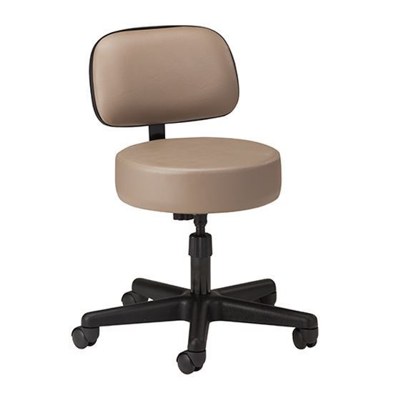 Picture of 2130-21 - 5-Leg Spin Lift Stool with Backrest