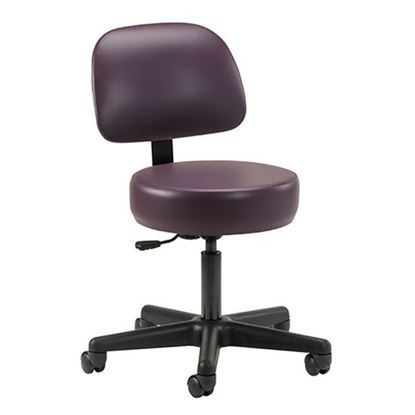 Picture of 21335-1 - Economic, 5-leg, Pneumatic Stool with Backrest