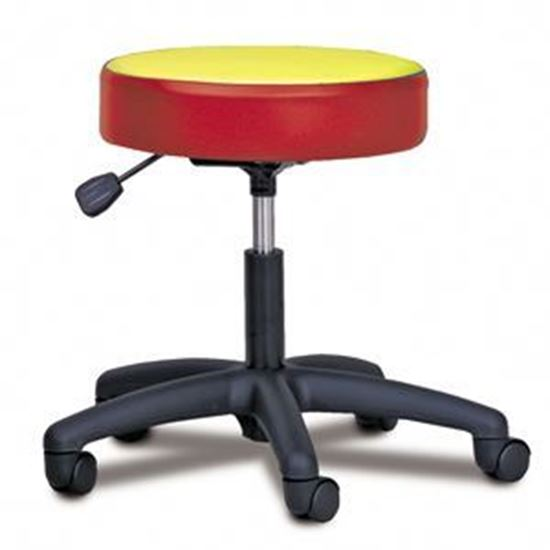 Picture of 2135-M - 5-Leg Pneumatic Stool with Multi-Color Top